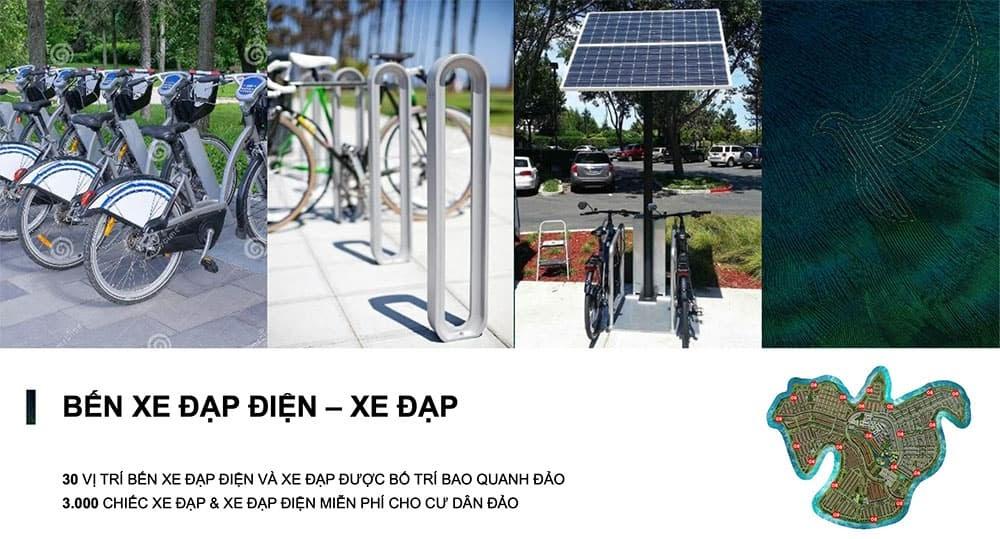 21 bãi đậu xe cùng hơn 3000 chiếc xe đạp thường và xe đạp điện