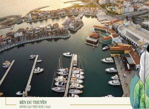 bến du thuyền dự án aqua city