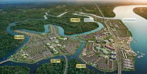 mặt bằng giai đoạn dự án aqua city