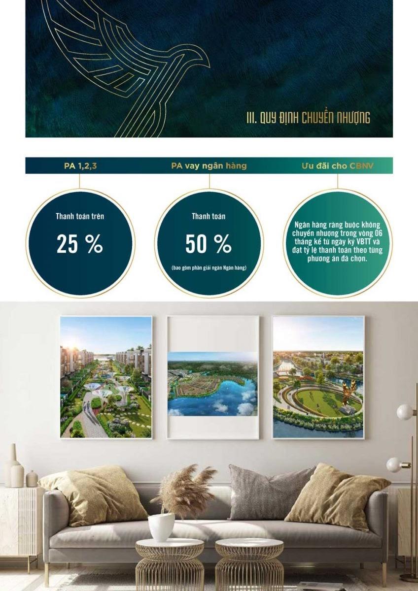 quy định chuyển nhượng dự án đảo phượng hoàng aqua city