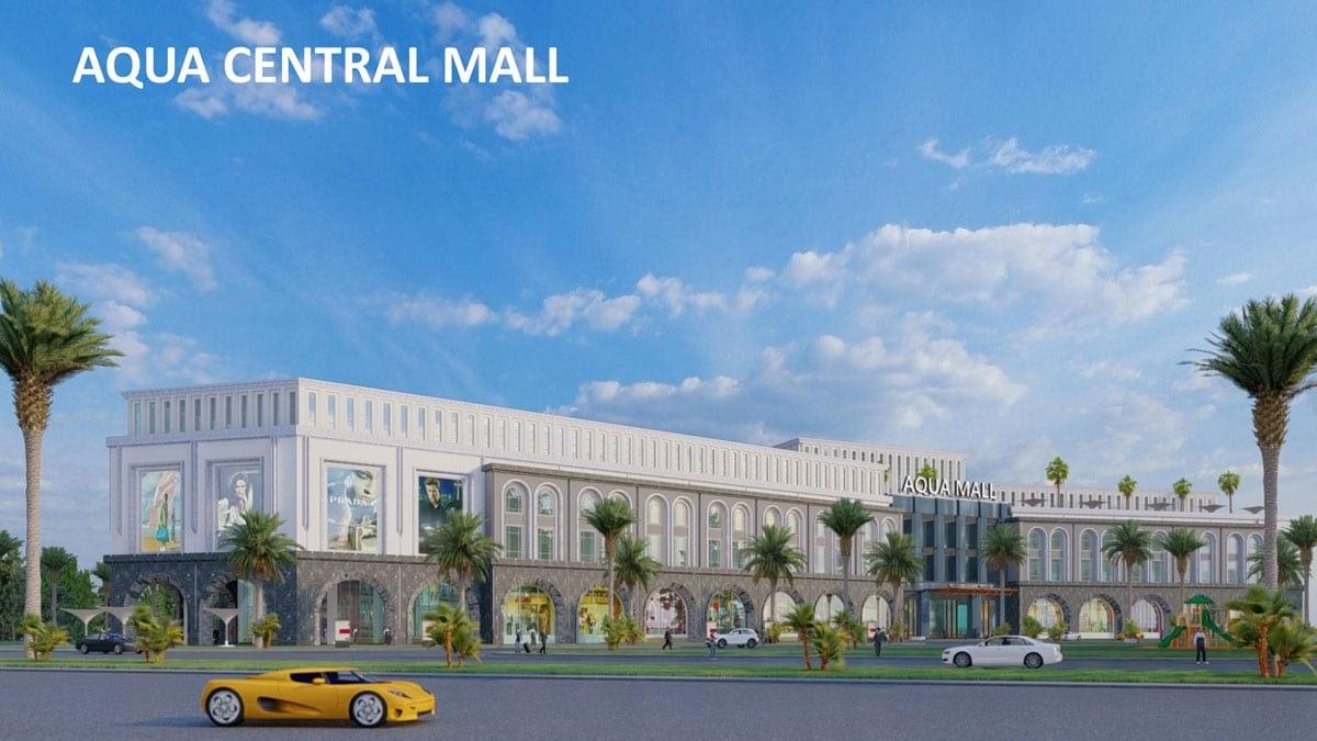 Shopping thả ga tại trung tâm thương mại cực lớn Aqua Central Mall