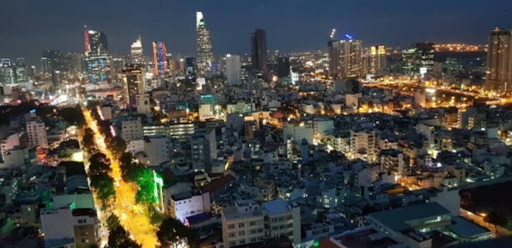 tầm nhìn từ căn hộ the grand manhattan quận 1