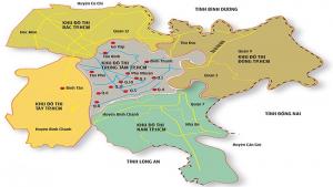 Khu vực phía Tây TPHCM